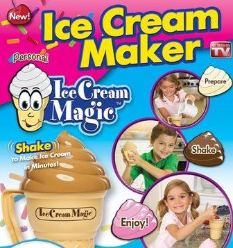 خرید اینترنتی دستگاه بستنی ساز مجیک خانگی - ice cream maker magic