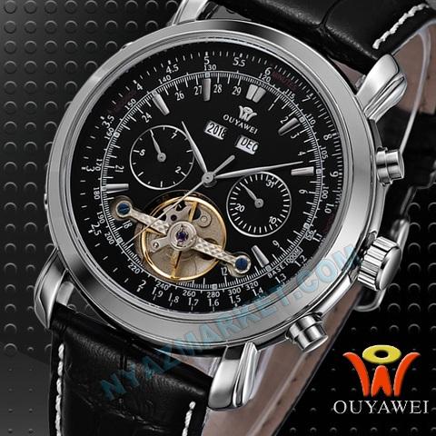 خرید پستی ساعت اویاوی تمام اتوماتیک OUYAWEI