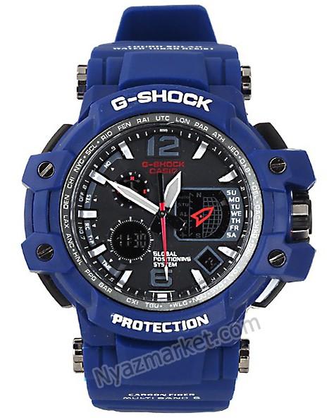ساعت جی شاک مردانه,خرید ساعت جی شاک دو زمانه سرمه ای,ساعت ورزشی,ساعت جی شاک اسپورت G-shock casio DW-A1100