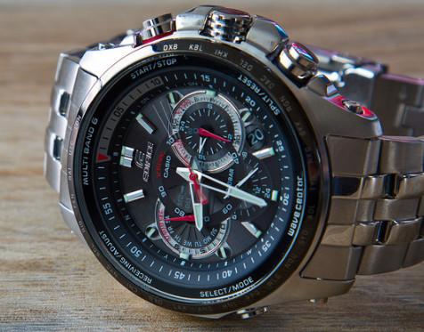 فروش اینترنتی ساعت مچی ضد اب کاسیو CASIO EF-710