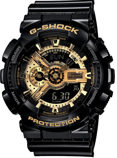 خرید ساعت مچی دیجیتالی کاسیو جی شاک GA-110GB-1ADR