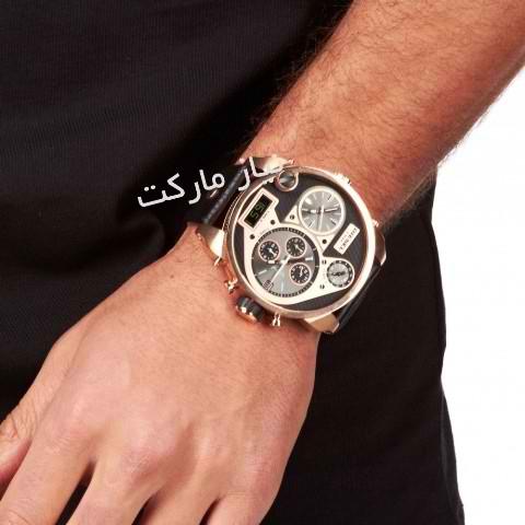 خرید ساعت دیزل دو زمانه l فروش اینترنتی diesel DZ7261