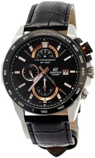 ساعت کاسیو بند چرمی مدل CASIO EDIFICE EFR 520