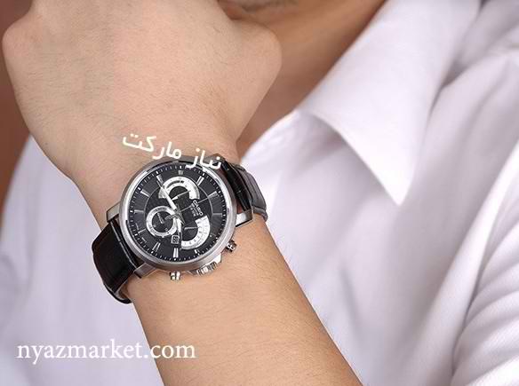 casio خرید اینترنتی ساعت کاسیو بند چرم مدل bem 506