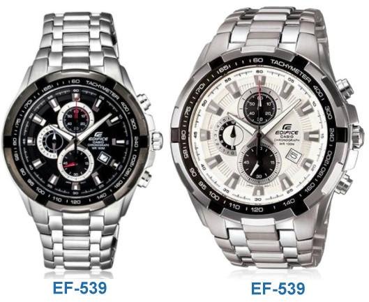 ساعت پسرانه کاسیو کرنوگراف اصل طرح سه موتوره مدل ef-539