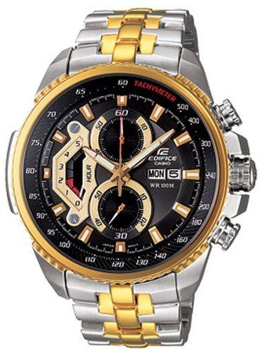 ساعت مچی کاسیو طلایی دو رنگ مدل 558