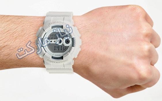 ساعت جی شاک تک زمانه مدل GD-100  با تخفیف ویزه