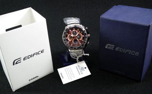 خرید ساعت کاسیو اورجینال چهار موتوره مدل casio edifice 560 صفحه مسی