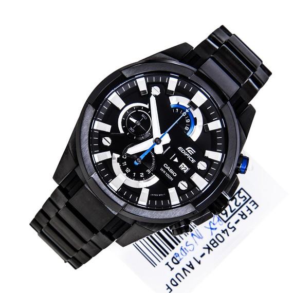 خرید ساعت کاسیو,ساعت مچی کاسیو مردانه,نمایندگی ساعت کاسیو,ساعت کاسیو سه موتوره ,کاسیو مردانه مدل efr-540 تمام مشکی,قیمت ساعت اورجینال casio