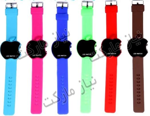 ساعت ال ای دی دیجیتالی اپل APPLE