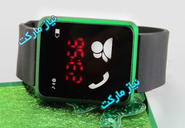 led-samsung ساعت ال ای دی سامسونگ گلکسی طرح موبایل