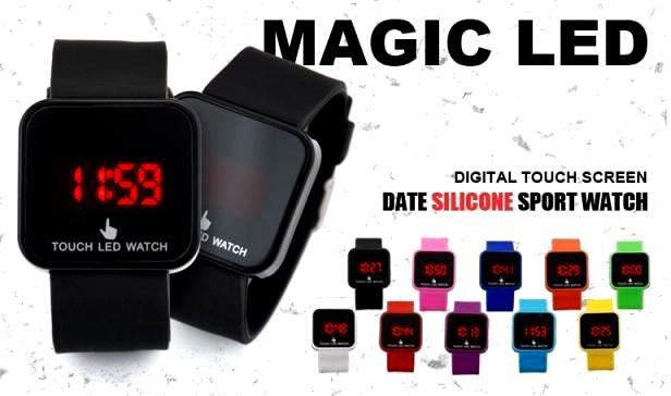 خرید ساعت ال ای دی لمسی تاچ اسکرین led