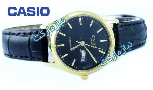 خرید ساعت کاسیو بند چرمی زنانه Casio Mtp 1199