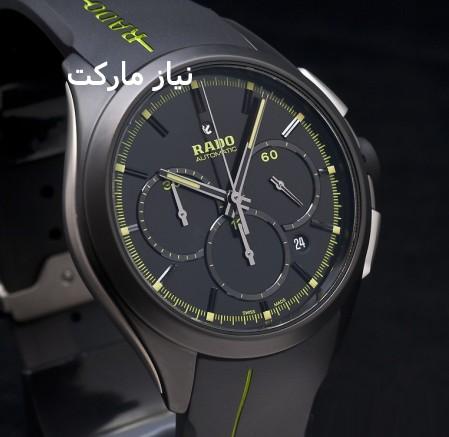 خرید ساعت مچی Rado مدل Adolf ,ساعت مردانه Rado مدل Adolf , ساعت رادو طرح سه موتوره,ساعت رادو تقویم دار,ساعت rado , ساعت رادو ادولف