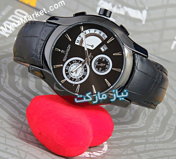 خرید آنلاین ساعت طرح سه موتوره رومانسون romanson M-110Ga مشکی