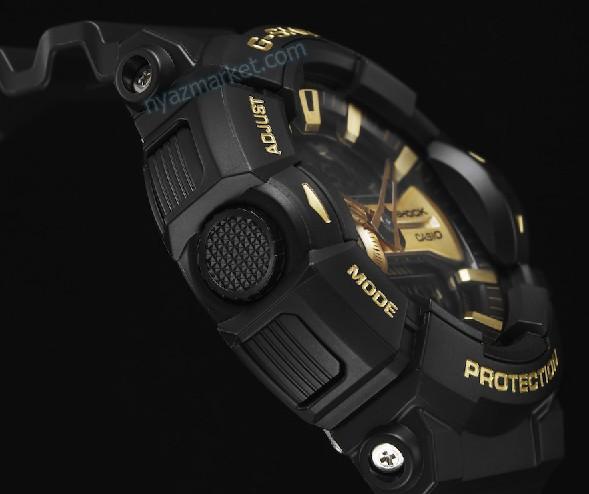 خرید ساعت جی شاک , ساعت جی شاک دیجیتالی , جی شاک دو زمانه , ساعت مچی طلایی مشکی,ساعت عقربه ای,جی شاک GA-400GB-1A9