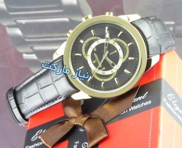 خرید ساعت بند چرم رومانسون مدل romanson z-304g