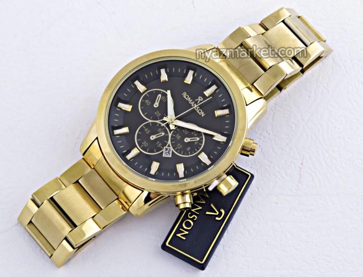 خرید ساعت ست مردانه زنانه,ساعت مچی مردانه,ساعت سه موتوره,ساعت رومانسون استیل , خرید اینترنتی ساعت رومانسون های کپی,ساعت romanson