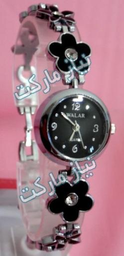 خرید اینترنتی ساعت والار دخترانه طرح گل و برگ