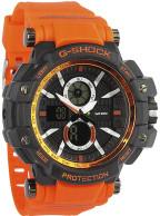 خرید ارزان ساعت مچی مردانه جی شاک فراری g-shock ferrari نارنجی